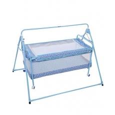 New Natraj Sleep Well Cradle Multi Print Light Blue - 031