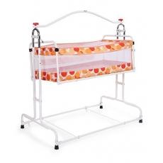 New Natraj Compact Cradle Polka Dot Print - Orange