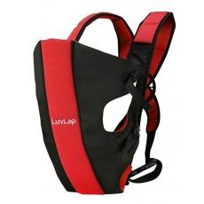 LuvLap Sunshine Baby Carrier - Black Red