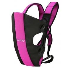 LuvLap Sunshine Baby Carrier - Black Pink
