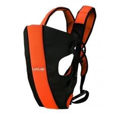 LuvLap Sunshine Baby Carrier - Black Orange