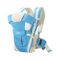 LuvLap Elegant Baby Carrier - Light Blue