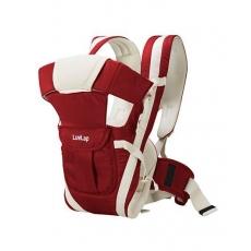 LuvLap Elegant Baby Carrier - Red