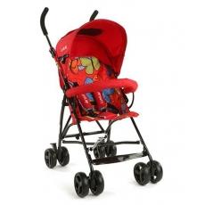 LuvLap Tutti Frutti Baby Stroller Buggy 18273 - Red