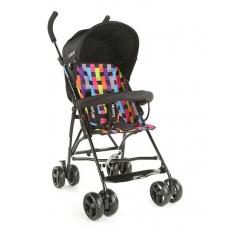 LuvLap Tutti Frutti Baby Stroller Buggy - Black