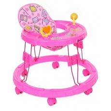 Mothertouch Chikoo Round Walker CRWP - Pink