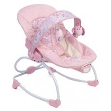 Mastela New Born To Toddler Rocker Cum Bouncer Butterfly Print - Pink