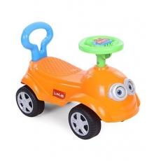LuvLap Bruno Baby Manual Push Ride On - Orange