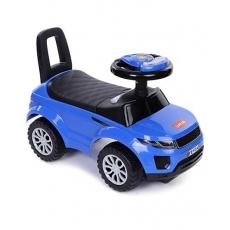 LuvLap Starlight Baby Manual Push Ride On - Blue