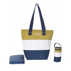Fisher Price Diaper Bag Pack of 3 - Preppy Green