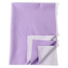 Mee Mee Bed Protector Mat Dry Sheet Medium - Purple