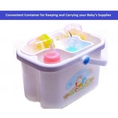 Rikang Baby Bottle Storage Box - (White)