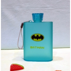 AS Flagon Water Bottle, A5 Notebook Water Bottle, Batman Water Bottle - Blue by ruchiez