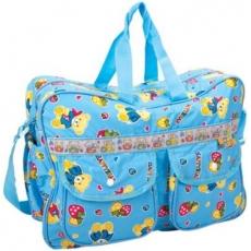 Mee Mee Nursery Bag, Diaper Bag, Nursing Bag  Multiprint - Blue
