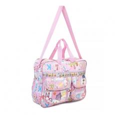 Mee Mee Nursery Bag, Diaper Bag, Nursing Bag  Multiprint - Pink