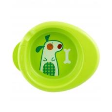 Chicco Warmy Plate Animal Print - Green