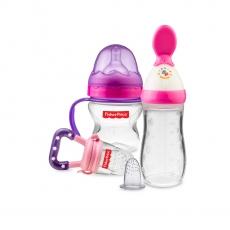 Fisher-Price Newborn Feeding Starter Kit - Pink