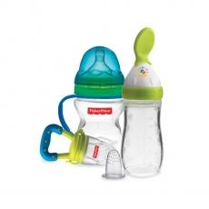 Fisher-Price Newborn Feeding Starter Kit - Blue & Green