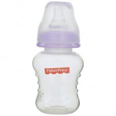 Fisher Price Ultra Care Regular Neck Polypropylene Feeding Bottle, Purple - 40z./120 ml