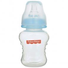 Fisher Price Ultra Care Regular Neck Polypropylene Feeding Bottle, Blue - 40z./120 ml