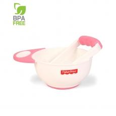 Fisher Price Food Mash & Serve Bowl Set - Pink