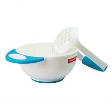 Fisher Price Food Mash & Serve Bowl Set - Blue