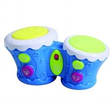 LuvLap Musical Bongo Drum - Blue White