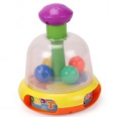 LuvLap Push & Spin Color Ball - Multicolour