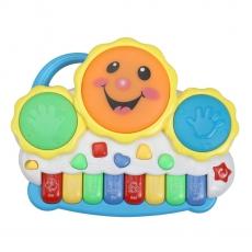 LuvLap Musical Drum & Keyboard Toy - Multicolor