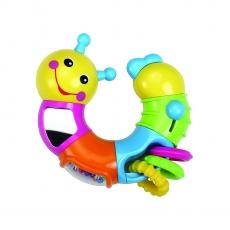 Luvlap Twist and Turn Caterpillar - Multicolor