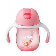 Luvlap Birdie Straw Sipper Cup Pink - 160 ml