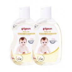 Pigeon Baby Oil Pack of 2 - 200 ml Each