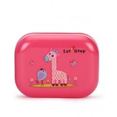 1st Step Soap Box Giraffe Print - Pink