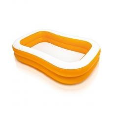 Intex Mandarin Swim Center Family Pool - White Orange