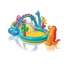Intex Dinoland Play Center Pool - Multicolor