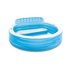 Intex Swim Centre Family Lounge Pool - Blue