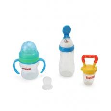 Fisher-Price Newborn Feeding Starter Kit - Multicolor