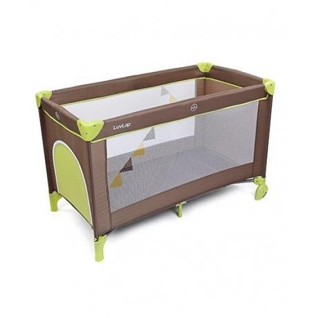 LuvLap Baby Playpen Sunshine - Brown & Green