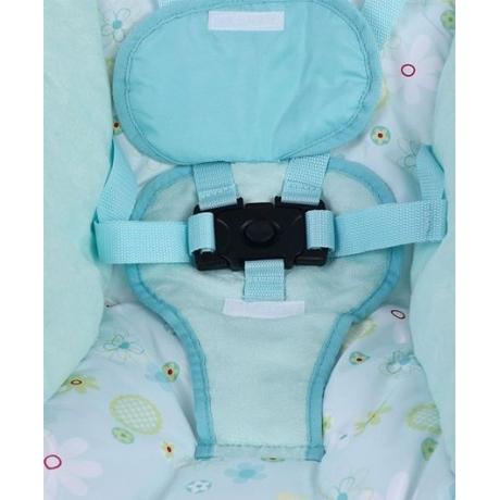 Mastela New Born To Toddler Rocker Cum Bouncer Floral Print - Blue