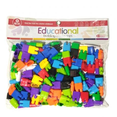 Educational Building Block Toy - Multicolor by Ruchiez