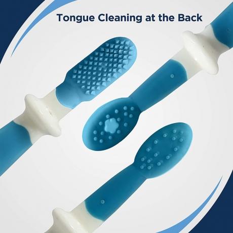 Luvlap Baby Training Toothbrush Set - Blue