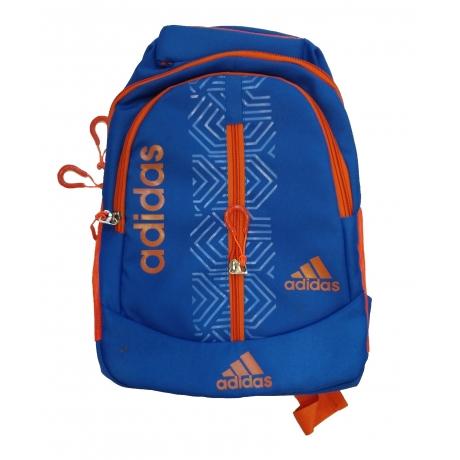 School Bag Adidas Printed, Blue, 3-5 Years, 12 Inches